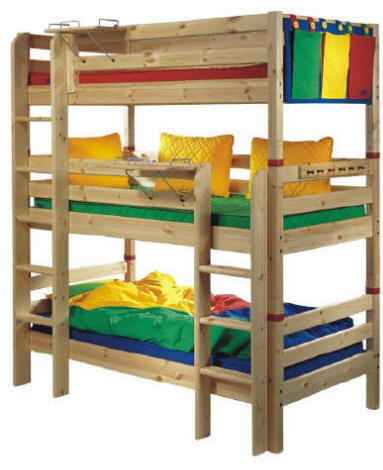triple bunk bed plans kids
