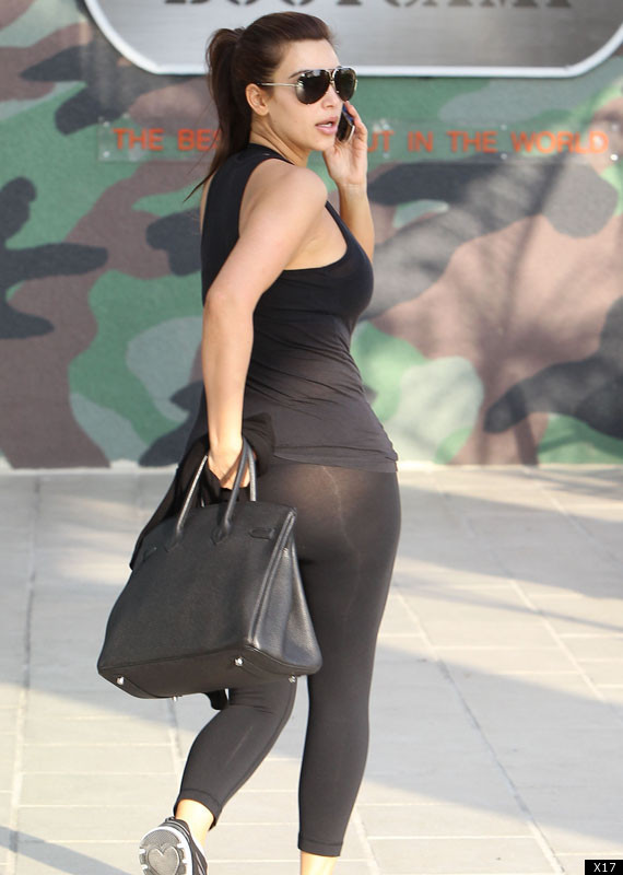 latest news kim kardashian wears see through leggings photos 1 copy True Confessions: I Wear Leggings as Pants (and So Can You)